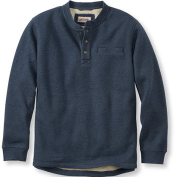 Katahdin Iron Works Bonded Waffle Fleece, Traditional Fit: Traditional Fit   Free Shipping at L.L.Bean