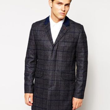 Ted Baker Coat In Check