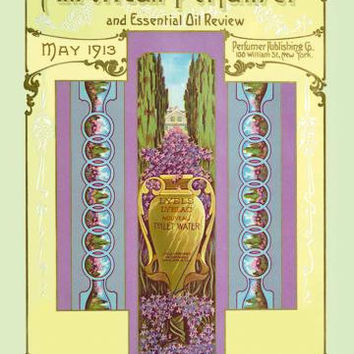 American Perfumer and Essential Oil Review, May 1913 20x30 poster