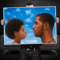 Drake Nothing Was The Same Album Poster - WeHustle.co.uk | U want it WE got it | WeHustle Enterprises Limited.
