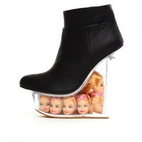 Jeffrey Campbell 'Ice Doll', black - Ashbury Skies