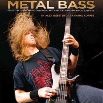 DCCKB62 Extreme Metal Bass: Essential Techniques, Concepts, and Applications for Metal Bassists