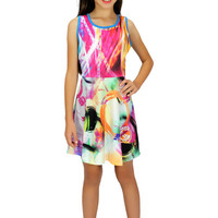 Dirtee Hollywood Abstract Artwork Dress | Mod Angel