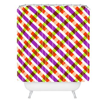 Caroline Okun Barclay Shower Curtain