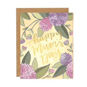Happy Mum's Day card