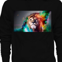 Trippy Tribe Lion Comfortable Hoodie