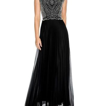 Cachet Long Formal Dress Evening Prom Gown