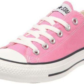 ICIKGQ8 converse chuck taylor all star ox fashion sneaker slip on shoe pink girls 9