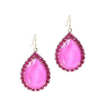 KRISTA EARRINGS IN FUCHSIA
