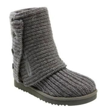 CREY1O UGG? Australia 'Cardy' Classic Knit Boot (Women) | Nordstrom