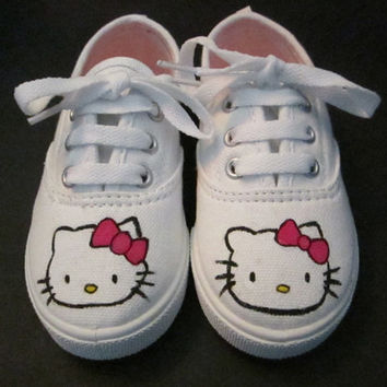 Hello Kitty Inspired Shoes