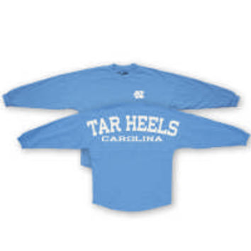 UNC Student Stores - Pressbox UNC Coastal Sweeper Jersey - Carolina Blue