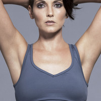 Koral Power Play Sports Bra in Cool Grey