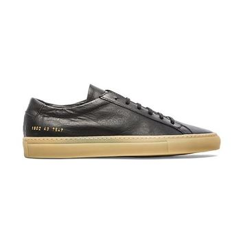 Common Projects Achilles Raw in Black
