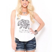 California Aztec Tank Top - JUST ARRIVED