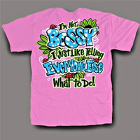 Sweet Thing Funny Bossy Pink Neon Girlie Bright T-Shirt