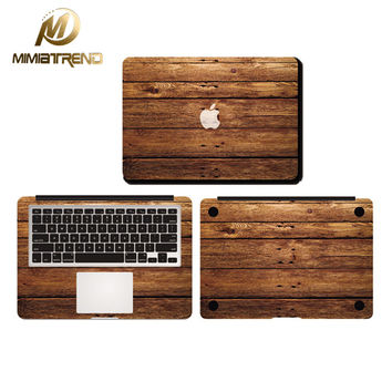 Mimiatrend Old Wood Planks Full Body Cover Laptop Stickers Case For Apple Macbook Air Pro Retina 11 13 15 Inch Protective Skin