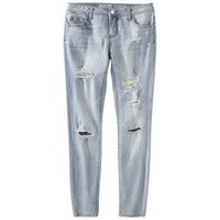 Mossimo Supply Co. Junior's Super Skinny Denim - Blue