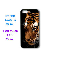 Tiger -- iPhone 4 case, iphone 5 case, ipod touch 4, ipod touch 5 case, personalized phone case