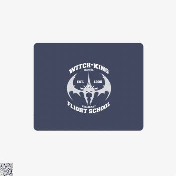 Witch King Nazgûl Flight School, Lord Of The Rings Mouse Pad