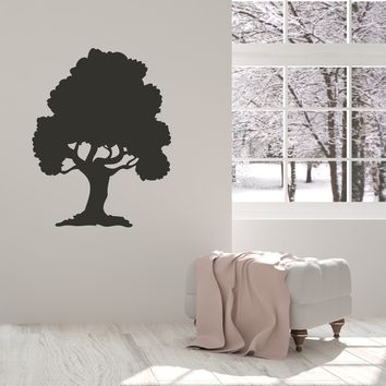 Vinyl Decal Wall Sticker Nature Tree Home Decor Mural Forest Oak Unique Gift (g071)