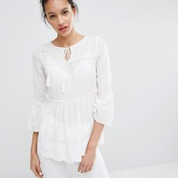 Vero Moda Tiered Smock Top at asos.com