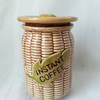 Vintage Tilso Instant Coffee Container