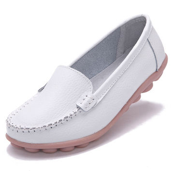 Woman Genuine Leather Women Shoes