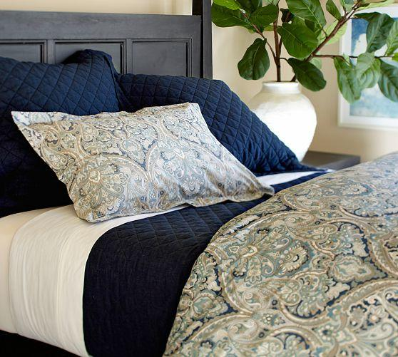 Mackenna Paisley Duvet Cover Amp Sham From Pottery Barn