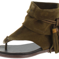 Free People Marlo Women's Fringe Boot Thong Sandals