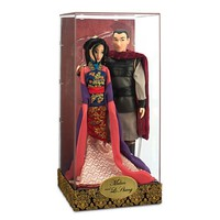 Disney -Mulan and Li Shang Doll Set - Disney Fairytale Designer Collection - NEW