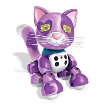 Zoomer Meowzies, Viola, Interactive Kitten with Lights, Sounds and Sensors