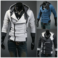 Winter Korean Men Hats Hoodies Slim Jacket [6528656579]