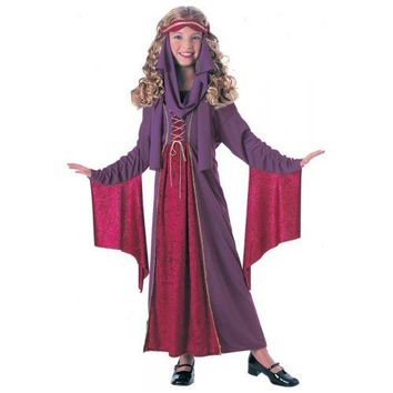 Medieval Princess Renaissance Lady Costume Halloween Fancy Dress