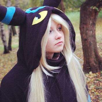 umbreon kigurumi by yotsubanoclover on Etsy