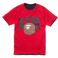 BAPE 93 REVERSIBLE TOP - BLACK/RED | Undefeated