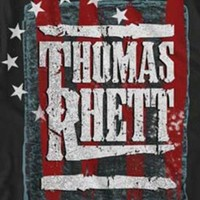 "New! Thomas Rhett ""Stars & Stripes"" Country Rock Licensed Concert Adult T-Shirt"
