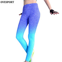 4 Leggings Colors Women Clothing Sports Slim Pants Legging Workout Sport Fitness Girls Bodybuilding And Running Gym Clothes