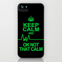 Keep Calm iPhone & iPod Case by Alice Gosling