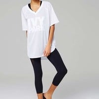 Logo Mesh Tee by Ivy Park