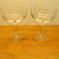 VINTAGE TOAST GLASSES