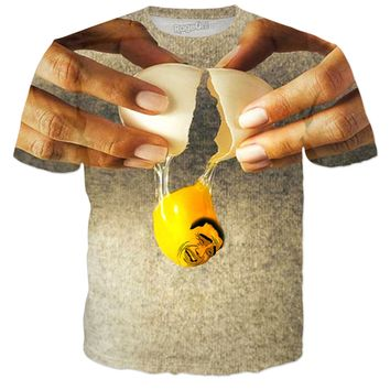 ROTS Happy Egg Yolk Adult T-Shirt