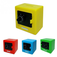 New High Quality Children Combination Code Safe Lock Piggy Bank Money Box For Saving Coins Cash Hot Sale For Gift
