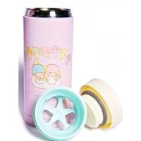 LITTLE TWIN STARS CHERUBS WATER BOTTLE