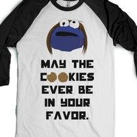 Cookies in Your Favor-Unisex White/Black T-Shirt