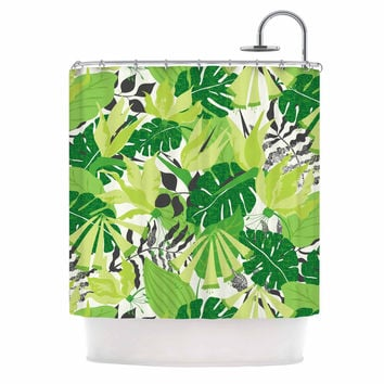 Shop Lime Green Shower Curtain on Wanelo