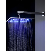 LightInTheBox Sprinkle® - 12 inch Brass Shower Head with Color Changing LED Light