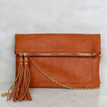 Swing On By Clutch Cognac
