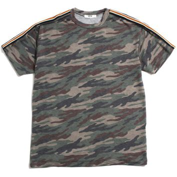 Taped Camo T-Shirt Army Green