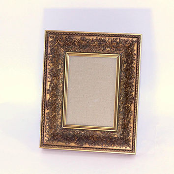 "Ornate Picture Frame 5"" x 7"" 
